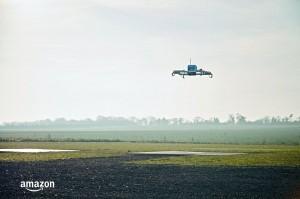 快遞恐失業 亞馬遜完成全自動無人機送貨測試