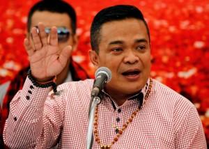 違法政治集會 泰國紅衫軍領導人被起訴