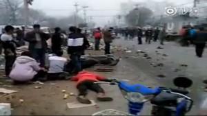柏林翻版?箱型車衝入北京市場4死多傷