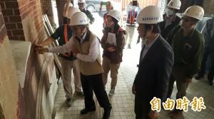 台南拚18件有感工程 副市長視察工安