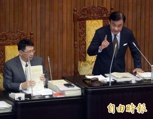 立院338案預算表決戰開打 時力轟國民黨無理杯葛