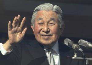 日本天皇取消新年感言 退位法案2017年提送國會