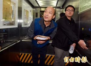 赴北檢出庭 韓國瑜︰期待公平審訊