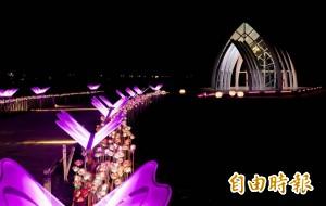 台南北門婚紗美地水晶教堂 光環境營造更美了
