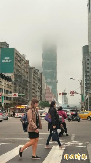 冷氣團南下全台氣溫驟降 北台灣明午僅16度