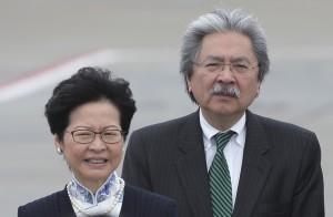 請辭政務司長獲准 林鄭月娥宣布參選香港特首
