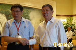 曾與柯文哲握手 上海市長楊雄去職