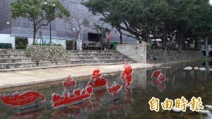 「風城奇想」明點燈 護城河畔裝置藝術太浪漫