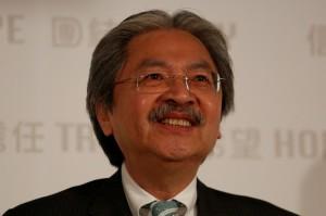 香港特首選戰 前財政司長曾俊華宣布參選
