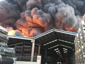 泰豐輪胎大火 環保署:戴奧辛無明顯污染