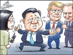 流亡漫畫家揭中共謊言  畫作在日本熱銷!