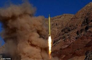 不爽美禁穆斯林 伊朗試射飛彈報復川普
