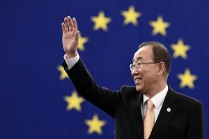 潘基文宣布退出南韓政壇 不角逐總統大選