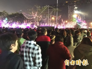 政院車隊離開台灣燈會時車禍? 國道警:僅擦撞人均安