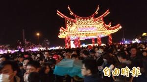 台灣燈會有空拍機遭擊落?疑為民眾誤傳