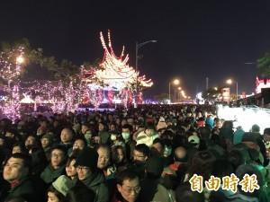 台灣燈會第一天 人潮190萬人次