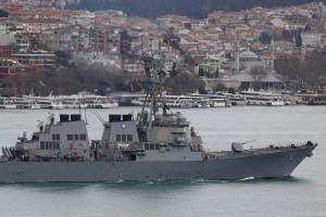 俄國不斷挑釁? 軍機數次逼近美國驅逐艦