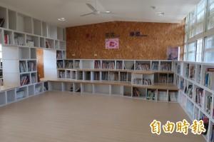 水源國小「故事農倉圖書館」打造美學校園空間