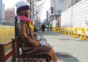 慰安婦銅像爭議 韓外交部要求地方政府移除