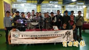 「為著十萬元」 虎科大機器人大賽歡迎來搶錢
