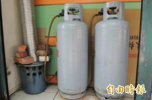 三月桶裝瓦斯不漲價 天然氣漲2.99%