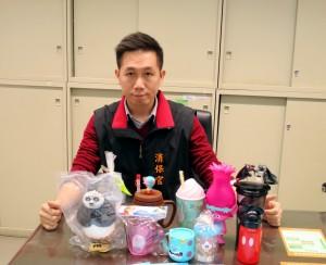 台中市消保官抽查電影造型塑膠杯 2款需回收