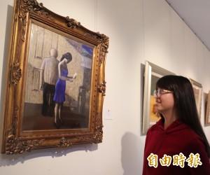 台日韓跨國美術交流展 在葫蘆墩文化中心