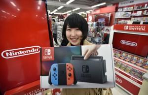 睽違四年 任天堂新主機「Switch」今開賣