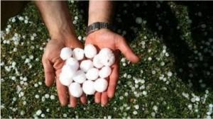 暴雨伴隨網球大冰雹侵襲澳洲 新南威爾斯省成水鄉