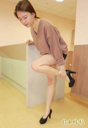 醫病》穿高跟鞋足底筋膜炎 醫師教預防方法
