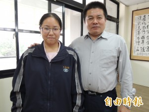 媽祖駐駕好運連連  黃鄭孟慈錄取台大醫學系公費生