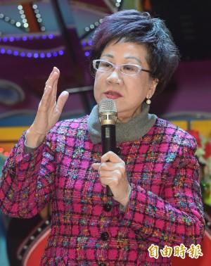 民進黨2018若再禮讓不提名 呂秀蓮:自貶黨格