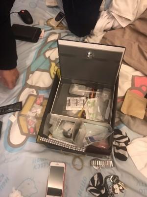 「大支」吸食器攬客 藥頭帶行動保險箱販毒被逮