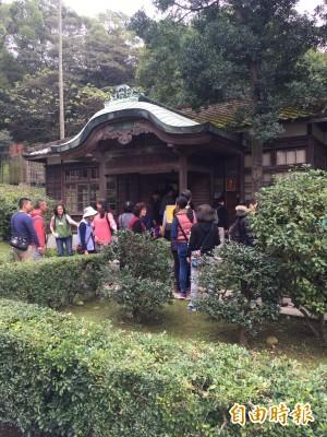 桃園神社啟用 日本境外、全台保存最完整神社