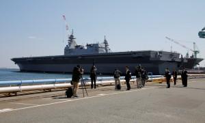 對抗中國海上崛起 日最大型護衛艦加賀號服役