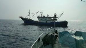 敢來捕魚就抓! 海巡隊再逮越界中國漁船
