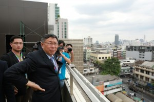 受邀遊香港  柯P:還是覺得台灣好吃好玩又好看