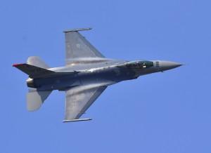 F-16戰機華盛頓特區外墜毀 駕駛彈射逃生