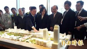 大車站及輕軌列前瞻建設 小英:新竹將改變