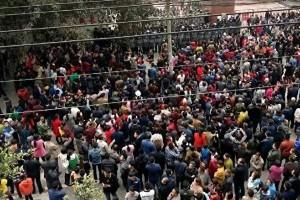 四川生疑被惡霸虐死案 中共派警鎮壓抗議民眾