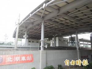 台鐵北湖車站約87公里處 1女遭火車撞不治