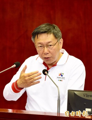 議員籲救援李明哲  柯P:有機會就向中國反映