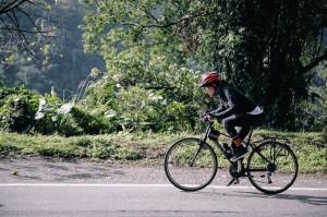 八仙塵燃後重學走路 尹柔上月騎單車235公里