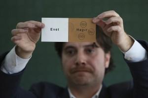 土耳其官方通訊社:修憲公投 支持派57%暫領先