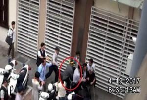 年金改革暴力衝突嫌犯26人 警辨識出7人