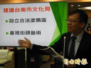 台南搞藝術 民代請命設置合法塗鴉區