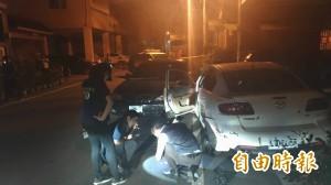 東港深夜傳槍響 警方飛車逮人嫌犯中彈