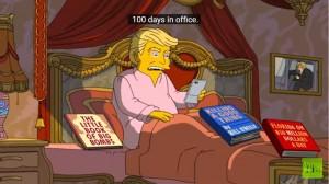川普就職將滿100天 《辛普森家庭》推嘲諷短片