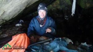 搜救隊還原救援過程 梁聖岳受困洞穴照曝光