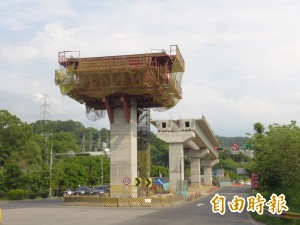淡海輕軌遇古戰場城岸遺蹟 施工力求「防振」